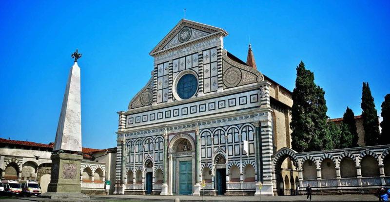 Façade of Santa Maria Novella church