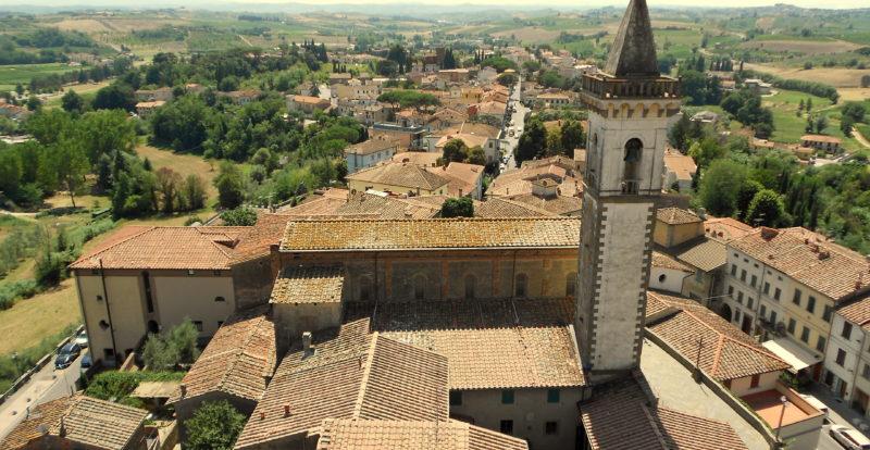 The Medieval hamlet of Vinci