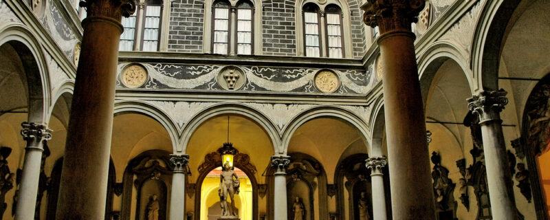 Palazzo Medici, cortile