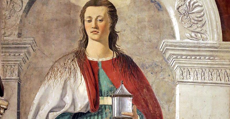 Maddalena di Piero della Francesca, Duomo di Arezzo
