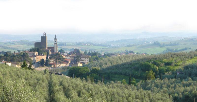 A view over Vinci
