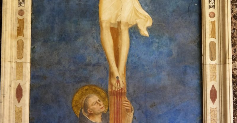 Crucifixion of Jesus by Fra Angelico