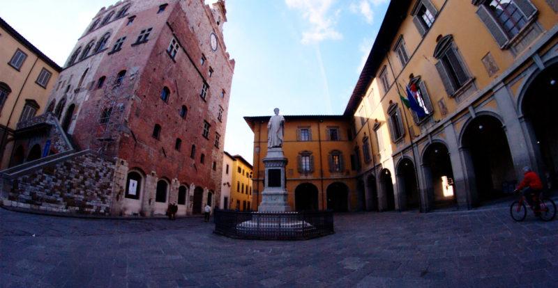 Piazza del Comune in Prato