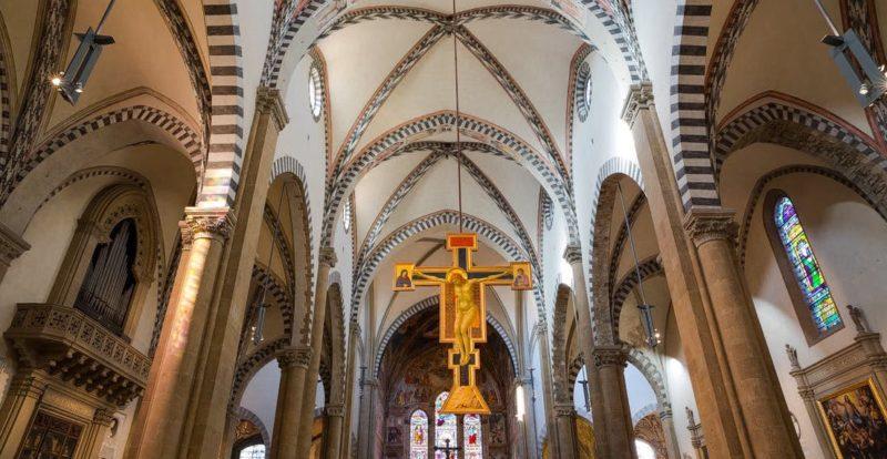 Santa Maria Novella, Crocifisso di Giotto