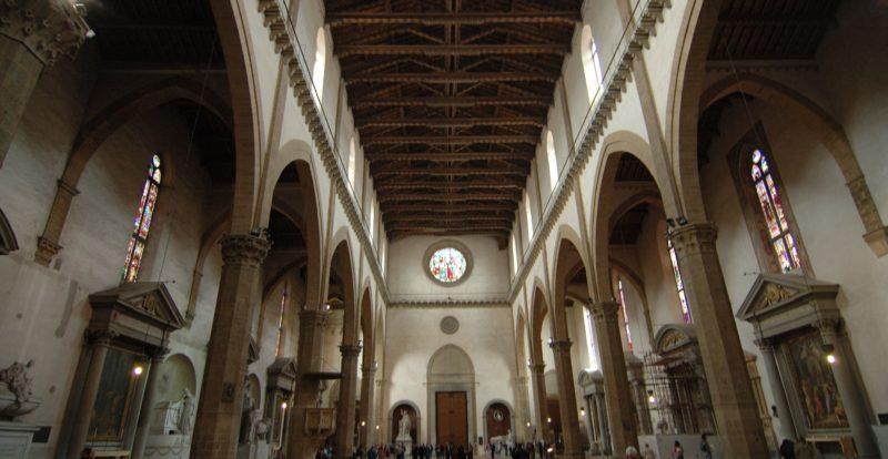 Basilica di Santa Croce, interno