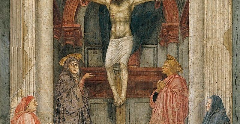 Santa Maria Novella church, Holy Trinity by Masaccio