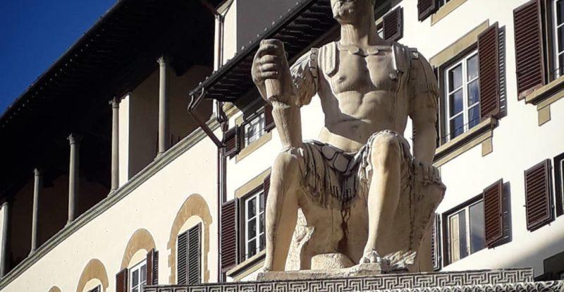 Baccio Bandinelli, Monumento a Giovanni dalla Bande Nere
