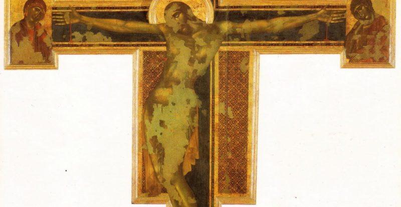 Basilica di Santa Croce, Crocifisso di Cimabue