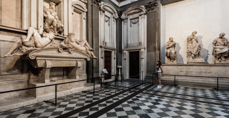 The New Sacristy in the Medici Chapels