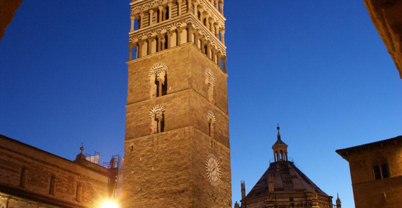 Duomo square in Pistoia