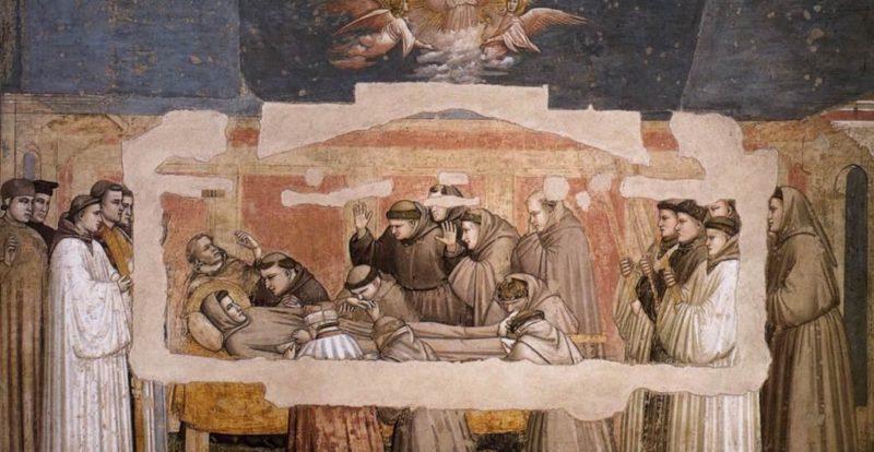 Basilica di Santa Croce, affreschi di Giotto