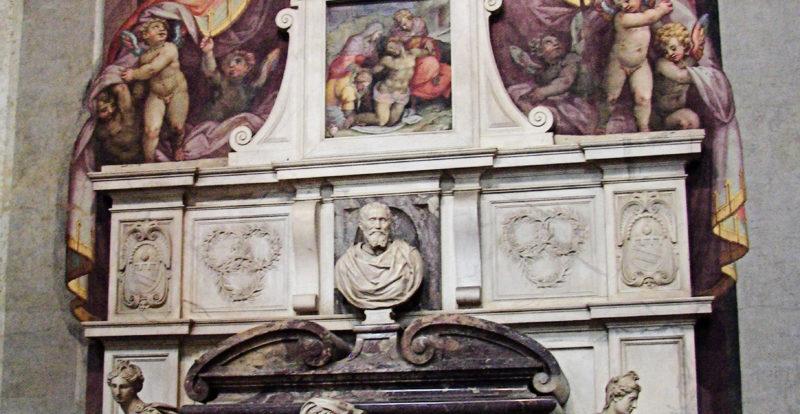 Basilica di Santa Croce, Tomba di Michelangelo