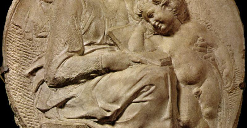 Pitti Tondo by Michelangelo