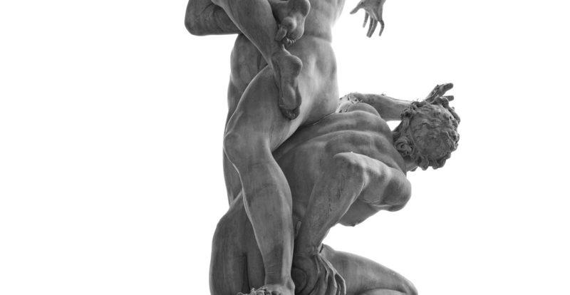 Piazza della Signoria, The Rape of the Sabine Women by Giambologna