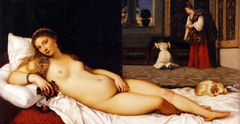 Venere di Urbino di Tiziano