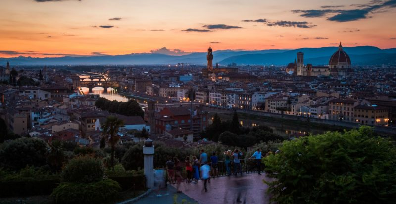 A view from Piazzale Michelangelo