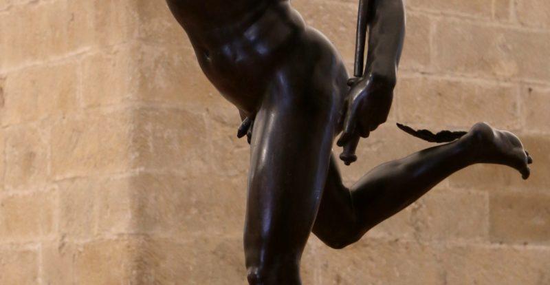 Mercury by Giambologna