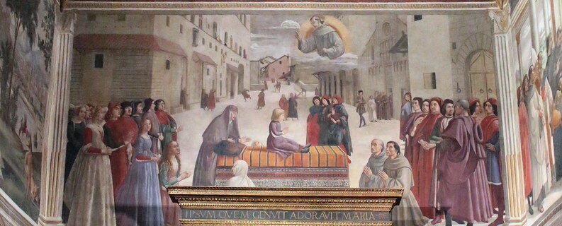 Church of Santa Trinita, Sassetti Chapel